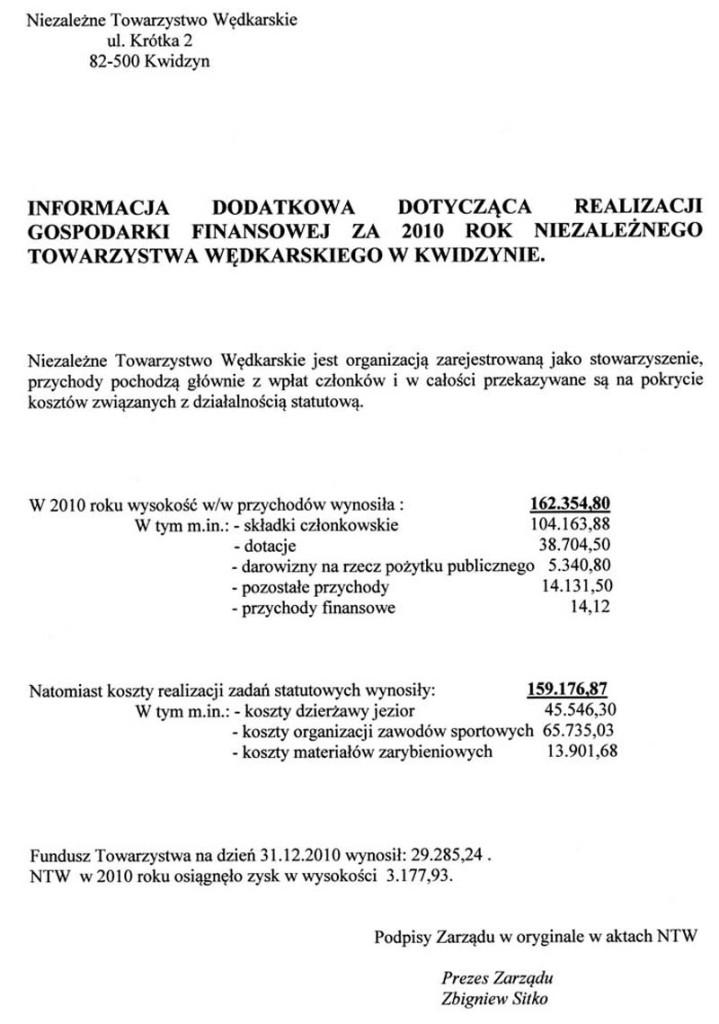 info dodatk 2010